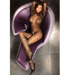 ABRA BODYSTOCKING – PRETO XL/XXL