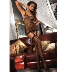 CATRIONA BODYSTOCKING – PRETO