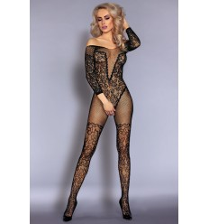 NURYA BODYSTOCKING NOIR