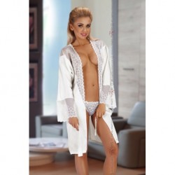 ROBE FEDERICA DRESSING GOWN WHITE