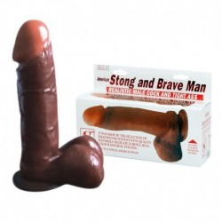 STRONG AND BRAVE MAN DILDO – 19 CM