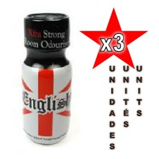 English Poppers 25ml - 03 unidades