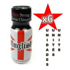 English Poppers 25ml - 06 unidades