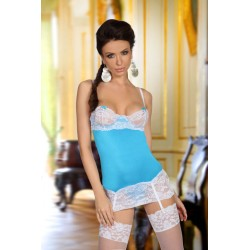 PICARDÍA SHIRLEY CHEMISE LIGHT BLUE