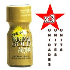 Original Gold 10ml - 3 unités
