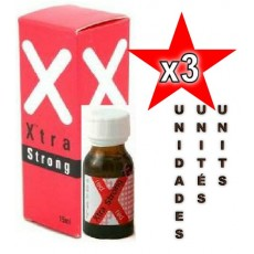 XTRA STRONG 15ML RED - 03 Unidades