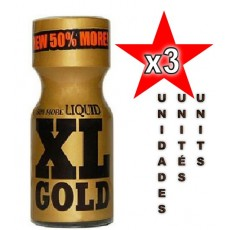 XL GOLD 15ml - 03 Unidades