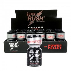 Super Rush Black Label 10ml - 18 unidades