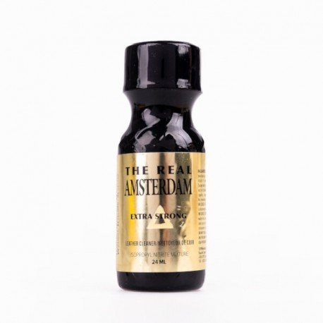 POPPERS THE REAL AMSTERDAM EXTRA STRONG 24ML
