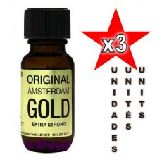 Original Amsterdam Gold 25ml - 03 unités