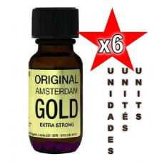 Original Amsterdam Gold 25ml - 06 unités