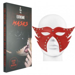 Catwoman Leather Mask - Red