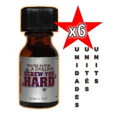 Screw You Hard 15ml - 06 Unidades