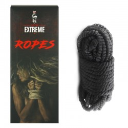 Bondage Silk Rope 5m - Black