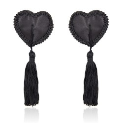 Black Hearts Nipple Covers