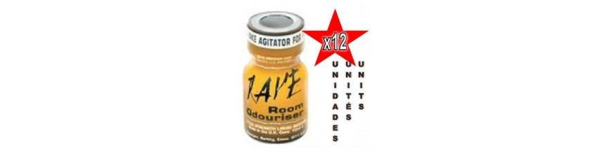 Poppers 12 unidades