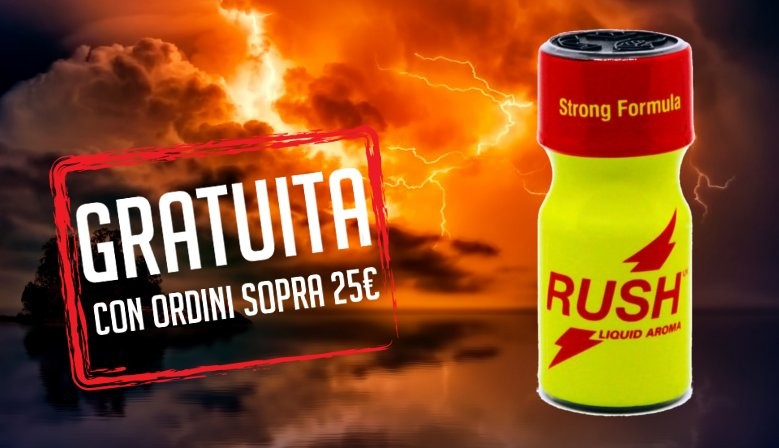 regalo poppers Rush UK Strong Formula 10ml