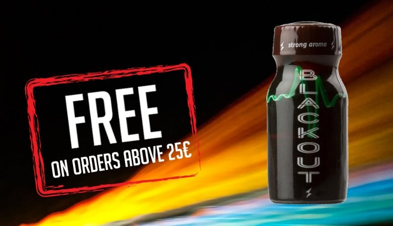 Free Gift Poppers Blackout 13ml